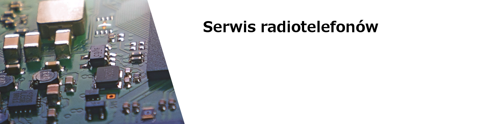 Serwis radiotelefonów TRX