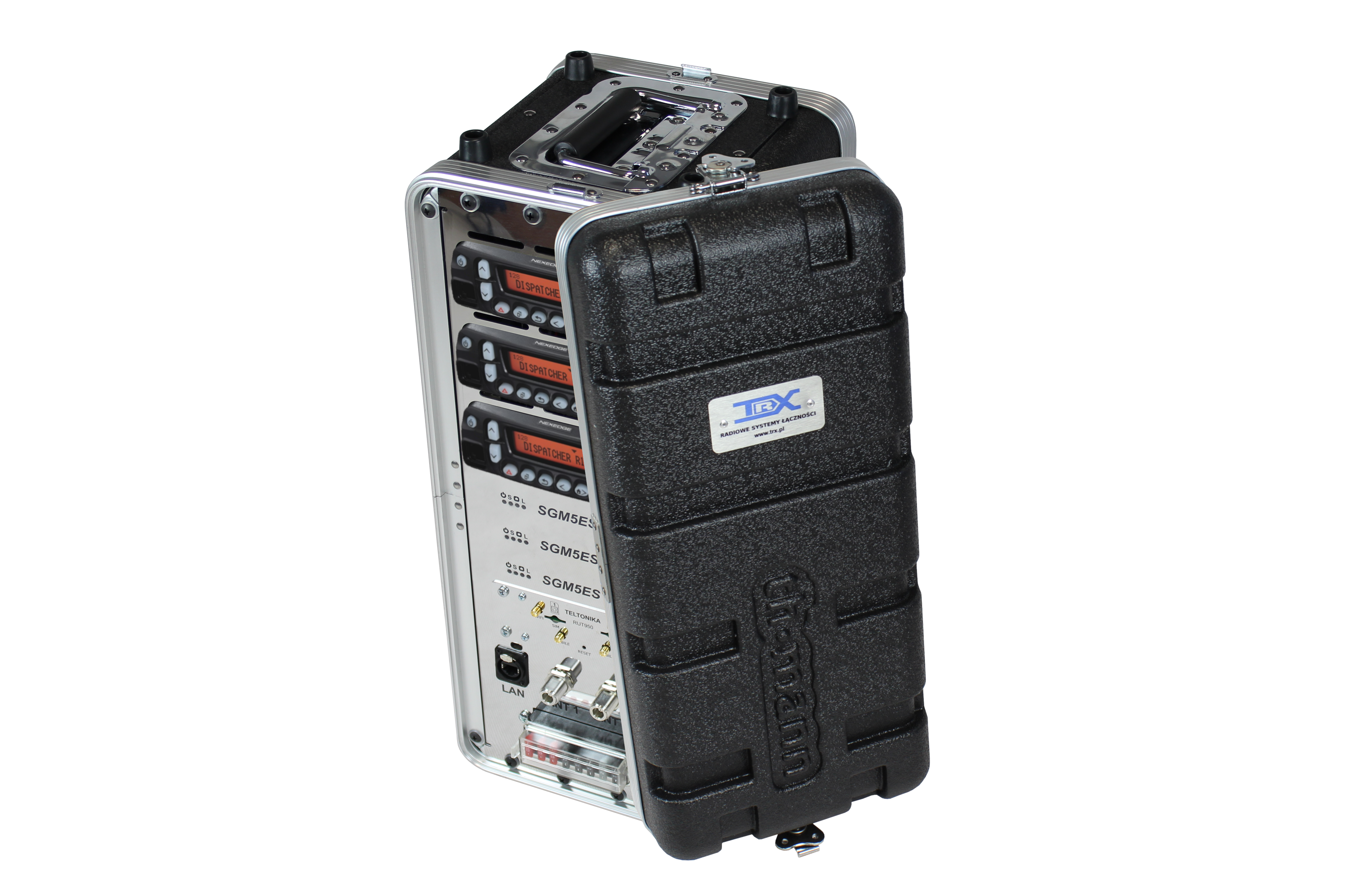 Zestaw 3-radiowy mobilny TRX